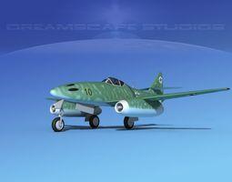 Messerschmitt ME-262A1 Swallow V09 3D model