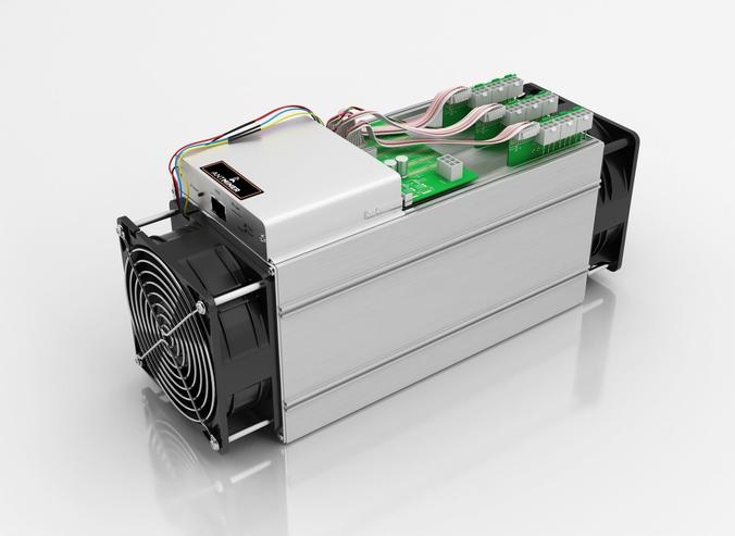antminer cryptocurrency mining hardware 3d model max obj fbx c4d dwg mtl 1