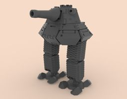 Robot mod6 3D printable model