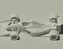 3D model Jordan 191 Formula 1 racing car