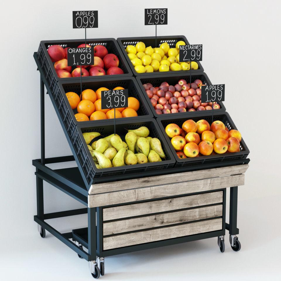 Fruit display rack | 3D model