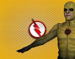 Reverse Flash CW 3D asset