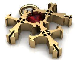 The Triple Cross  3D Model