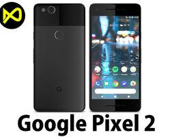 3D model Google Pixel 2 Just Black