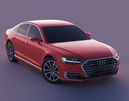 Audi A8 2018 3D