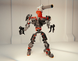 Maxilos 3D rigged