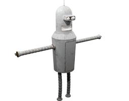 3D model Futurama - Bender old