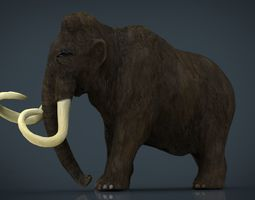 3D model Mammoth mammal