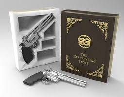 The Neverending Story Secret Book Box and 3D print model 4