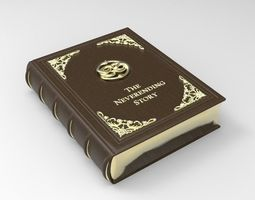 3D printable model The Neverending Story Book - BOX Prop