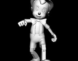 Pinocchio 3D print model