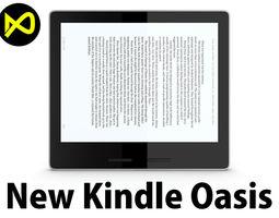 3D model New Amazon Kindle Oasis 2017