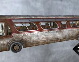 Rusty Bus 3D model