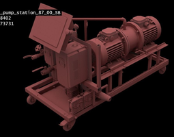Industrial Pipeline Machinery 87SB-Model 3D