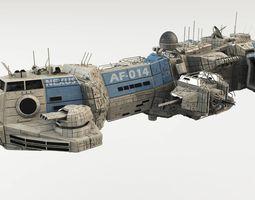 CDF Assault Frigate - Nexus 3D model
