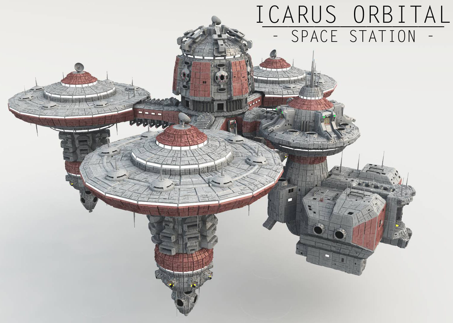 Icarus Orbital - Space Station