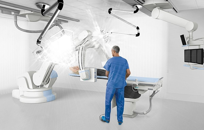 surgeons light 3d model 3dm ige igs iges 1