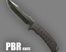 3D asset game-ready cutting Knife