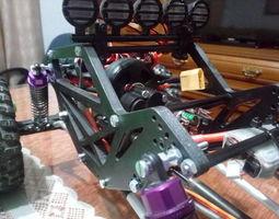 3D print model Rc crawler chassis