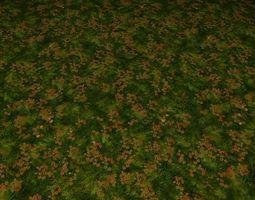 ground grass tile 27 3D