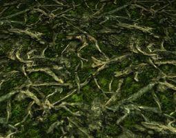 ground leaf tile 03 3D