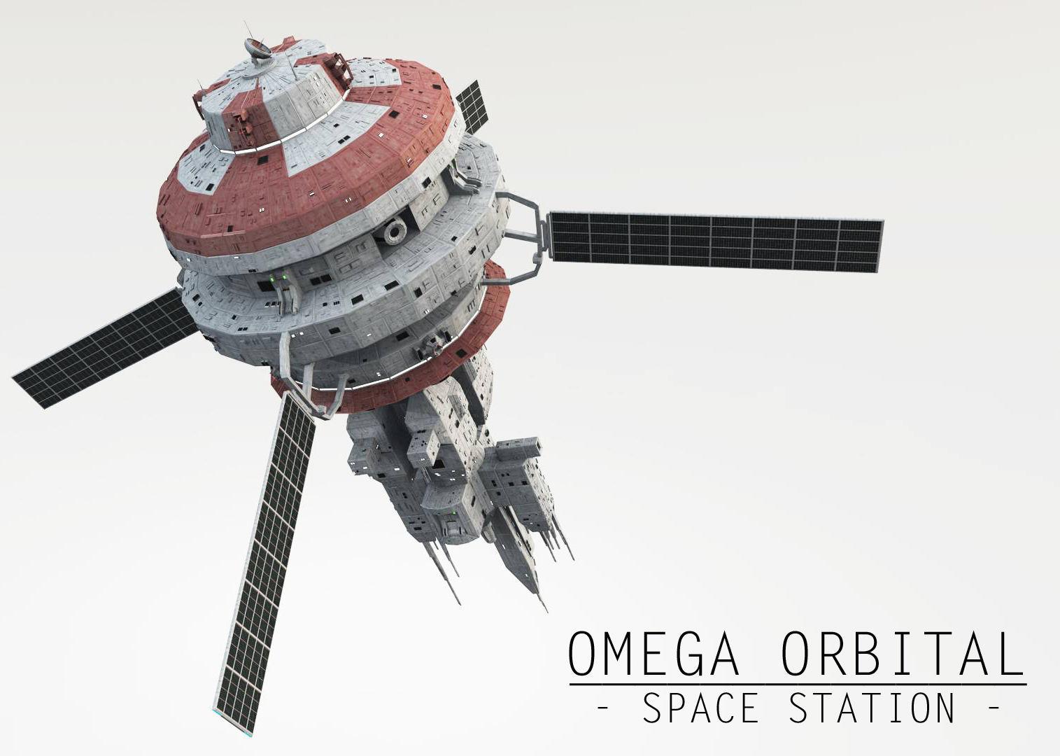 Omega Oribital - Space Station