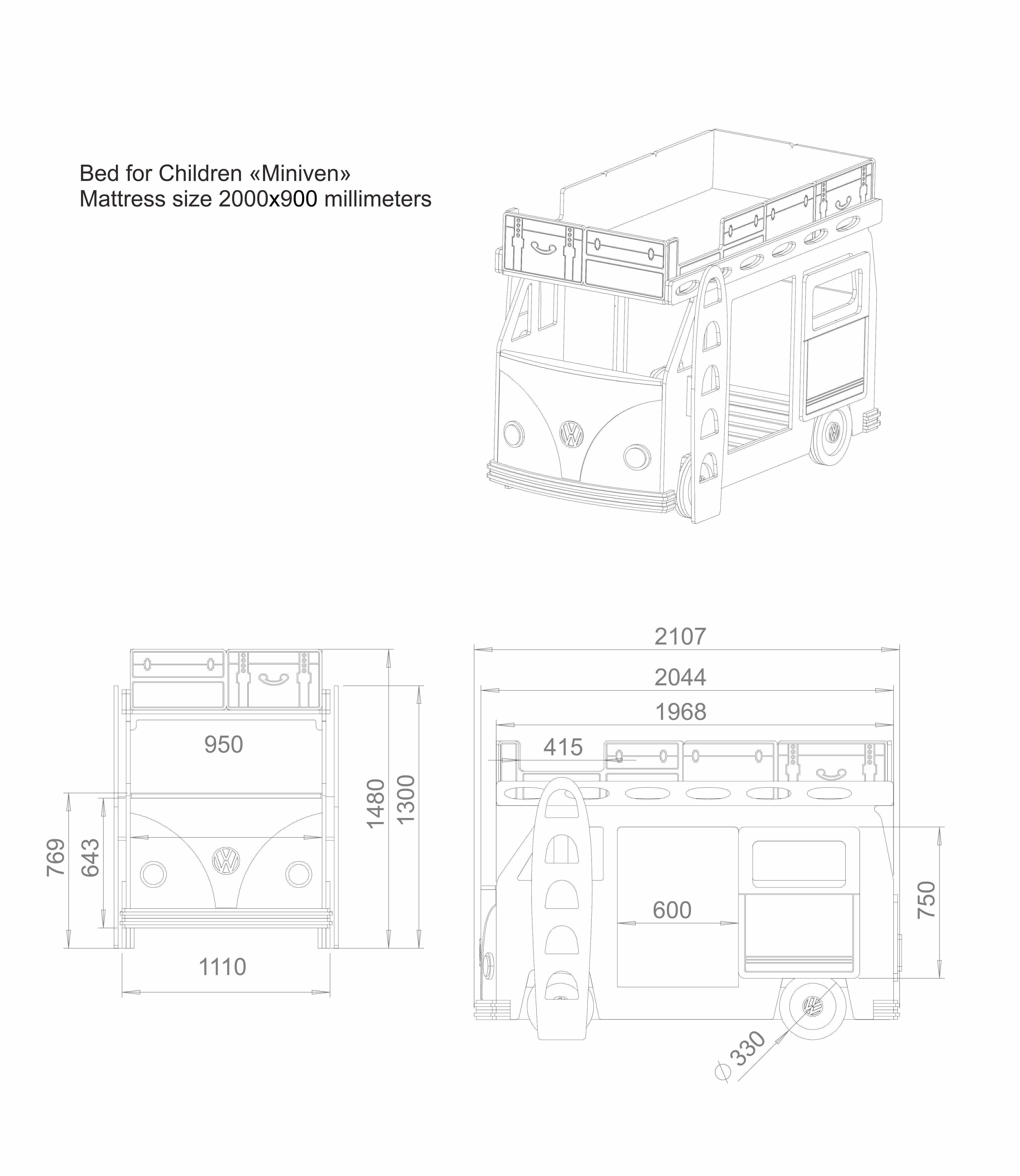 minivan volkswagen 3d cgtrader VW Minivan Diesel minivan volkswagen 3d model max sldprt sldasm slddrw pdf 3