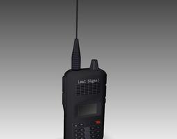 3D asset Walkie talkie radio