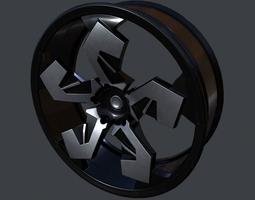 Car Rim 3D asset