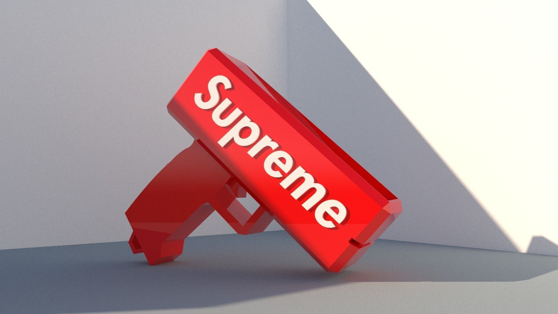 Supreme money gun cash cannon | 3D model