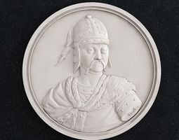 3D printable model Coin Velikii Kniyaz Oleg