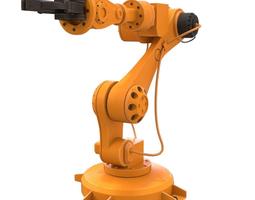 industrial robot 3D model power