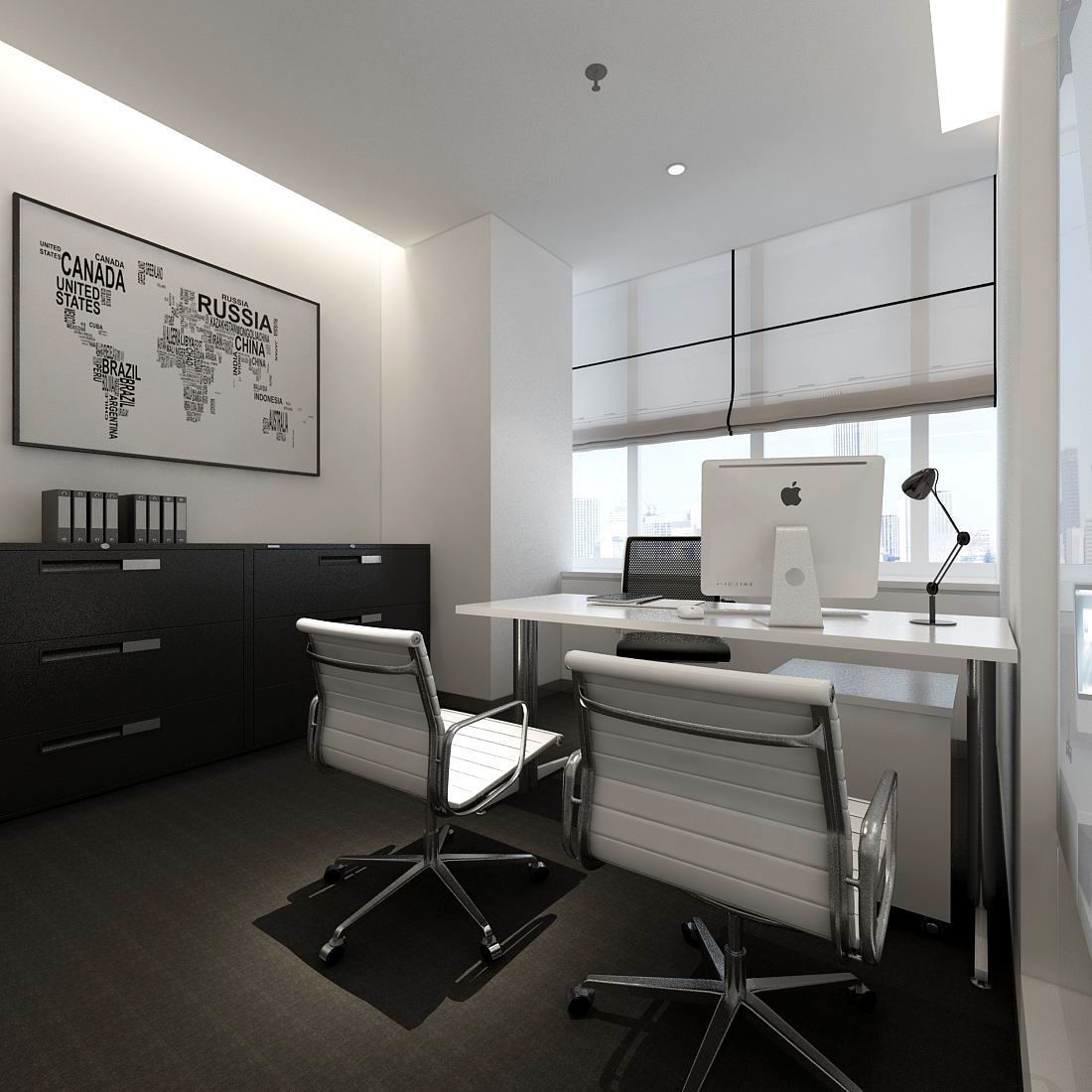boss manager office 06 3D | CGTrader