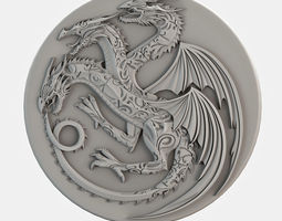 3D The game of thrones model sculpture