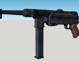 3D printable model MP40 Machine Gun