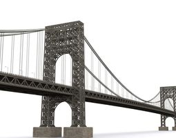 George Washington Bridge 3D asset