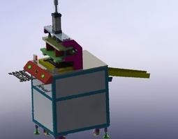 Plastic pressing machine 3D equipment