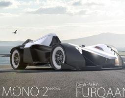 3D model bac mono 2 concept car
