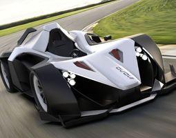 3D asset bac mono 2 concept car