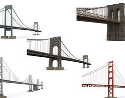 3D asset American bridges
