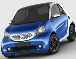 3d smart fortwo 2015