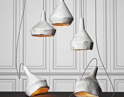 Pendant lamp LIKE PAPER 3D