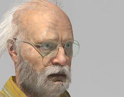 evil old man 3D