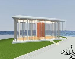 3D Cloud Pavilion on Shanghai Waterfront