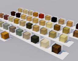 3D Wood Materials Textures