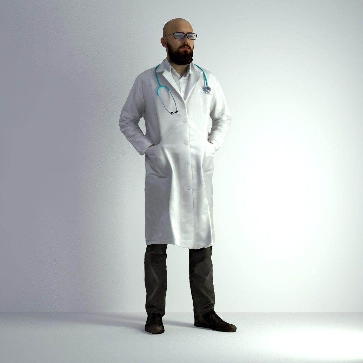 3D Scan Man Doctor 020