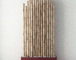 3D model Bamboo decor n10