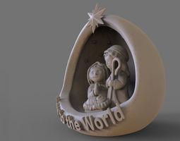 Nativity - Crib 3D printable model
