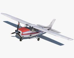 3D asset Cessna 206 Stationair