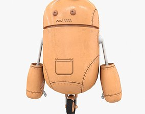 3D model Robot Assistant Low Poly